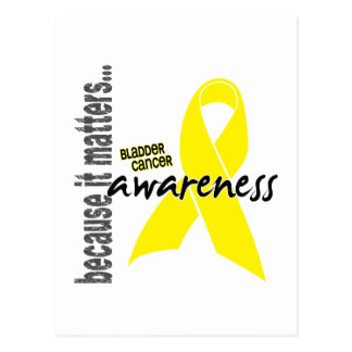 Bladder Cancer Awareness Postcard