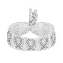 Bladder Cancer Awareness Ribbon Angel Hair Ties
