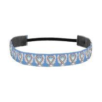 Bladder Cancer Awareness Ribbon Angel Headband