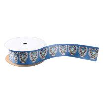 Bladder Cancer Awareness Ribbon Angels Design
