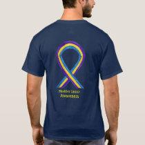 Bladder Cancer Awareness Ribbon Custom Art Shirts