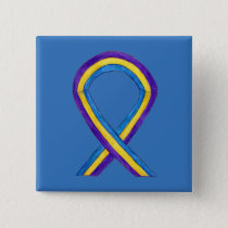 Bladder Cancer Awareness Ribbon Custom Pin Buttons