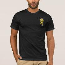 Bladder Cancer Awareness Ribbon Custom Shirts
