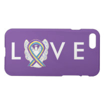 Bladder Cancer Awareness Ribbon iPhone 7 Case
