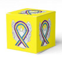 Bladder Cancer Awareness Ribbon Party Favor Box