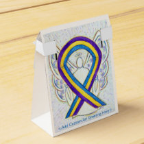Bladder Cancer Awareness Ribbon Party Favor Boxes