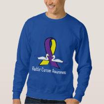 Bladder Cancer Awareness with Swans Sweatshirt