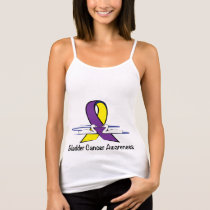 Bladder Cancer Awareness with Swans Tank Top