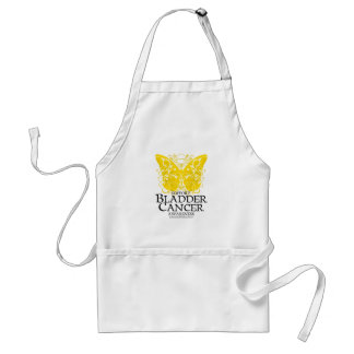 Bladder Cancer Butterfly Adult Apron