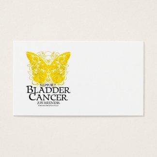 Bladder Cancer Butterfly Business Card