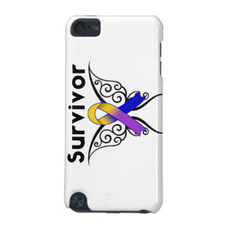 Bladder Cancer Butterfly Tattoo Ribbon iPod Touch (5th Generation) Case