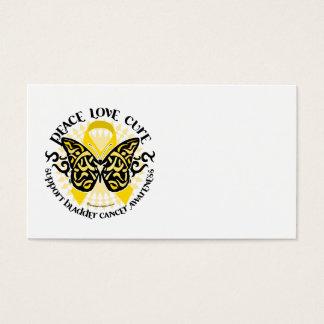 Bladder Cancer Butterfly Tribal Business Card