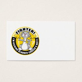 Bladder Cancer Cat Fighter Business Card