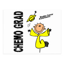 Bladder Cancer CHEMO GRAD 1 Postcard