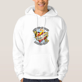 Bladder Cancer Classic Heart Hoodie