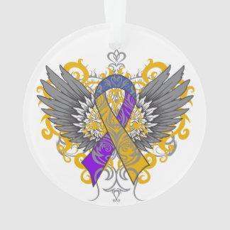 Bladder Cancer Cool Awareness Wings