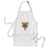 Bladder Cancer Dagger Adult Apron