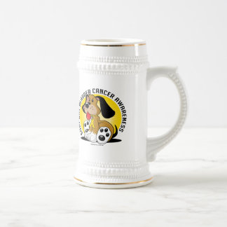 Bladder Cancer Dog Beer Stein