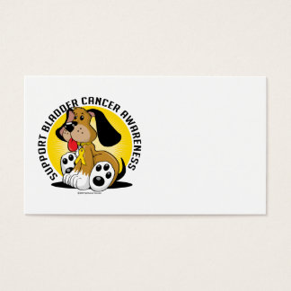 Bladder Cancer Dog Business Card