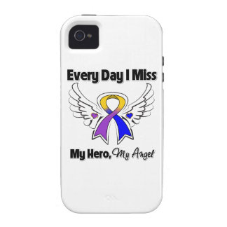 Bladder Cancer Every Day I Miss My Hero iPhone 4 Cases