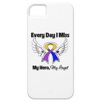 Bladder Cancer Every Day I Miss My Hero iPhone 5 Case