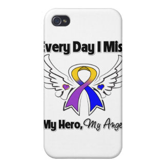 Bladder Cancer Every Day I Miss My Hero iPhone 4/4S Covers
