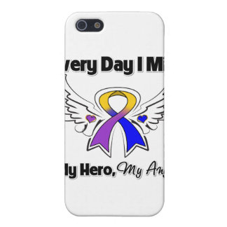Bladder Cancer Every Day I Miss My Hero iPhone 5 Covers