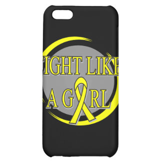 Bladder Cancer Fight Like A Girl Circular iPhone 5C Cases