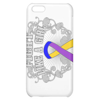 Bladder Cancer Fight Like A Girl Fleurish iPhone 5C Cover