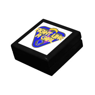 Bladder Cancer Fight Like A Girl Glove Jewelry Boxes