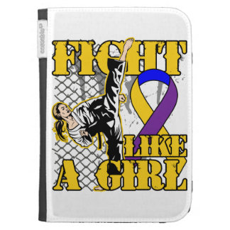 Bladder Cancer Fight Like A Girl Kick Case For The Kindle