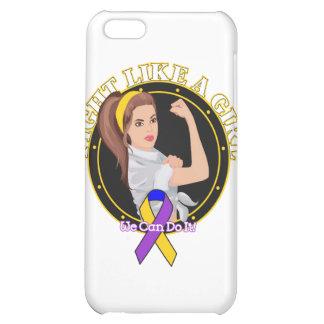Bladder Cancer Fight Like A Girl Modern Rosie iPhone 5C Case