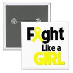 Bladder Cancer Fight Like a Girl Pins