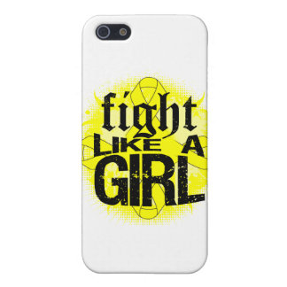 Bladder Cancer Fight Like A Girl Rock Ed. Cases For iPhone 5
