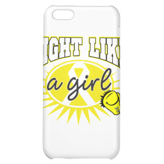 Bladder Cancer Fight Like A Girl Sporty Callout Case For iPhone 5C