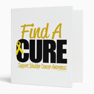 Bladder Cancer Find A Cure 3 Ring Binder