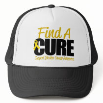 Bladder Cancer Find A Cure Trucker Hat