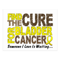 Bladder Cancer FIND THE CURE 1 Postcard
