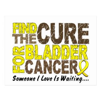 Bladder Cancer FIND THE CURE 1 Postcard