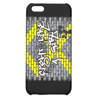 Bladder Cancer Graffiti Wall Fight Like A Girl Cover For iPhone 5C