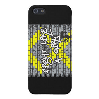 Bladder Cancer Graffiti Wall Fight Like A Girl Cover For iPhone 5