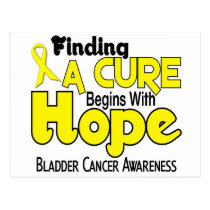 Bladder Cancer HOPE 5 Postcard