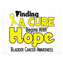 Bladder Cancer HOPE 5 Postcard