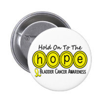 Bladder Cancer HOPE 6 Pinback Button