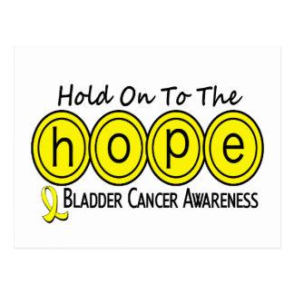 Bladder Cancer HOPE 6 Postcard
