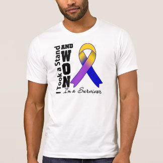 Bladder Cancer I Took a Stand and Won Tee Shirt