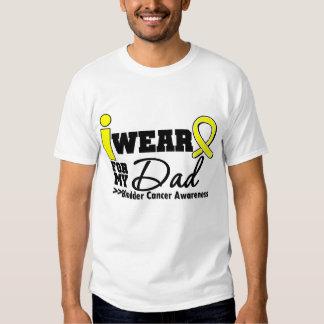 Bladder Cancer I Wear Yellow Ribbon For My Dad T-Shirt