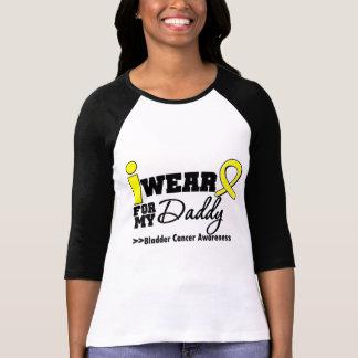 Bladder Cancer I Wear Yellow Ribbon For My Daddy T-Shirt