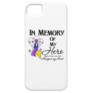 Bladder Cancer In Memory of My Hero iPhone 5 Cover