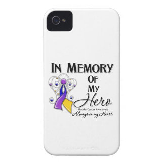 Bladder Cancer In Memory of My Hero iPhone 4 Cases